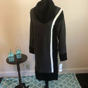 NWT NY collection cowlneck sweater dress